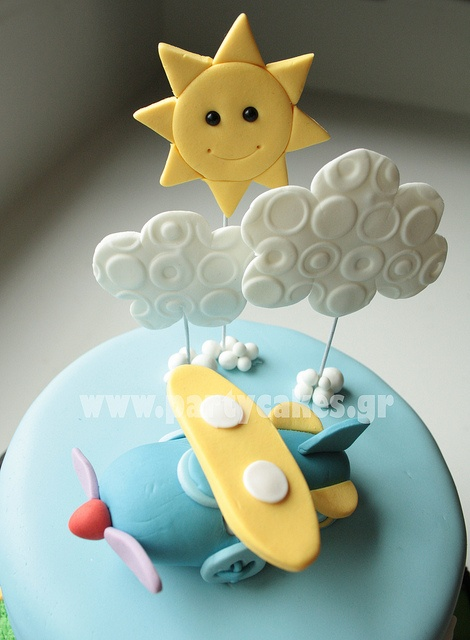 Transport Cake for a first birthday by Party Cakes By Samantha, via Flickr