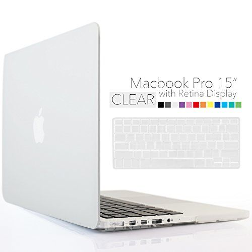 """Compatible with: Apple Mac book Pro 15/15.4"""" with retina display A1398 Only WARNING: This case can't Fit New Mac book Pro 15"""" A1286, can't fit OLD Macbook with SILVER KEYBOARD A1260. Product Features: Stylish and sleek hard case designed for the Apple Macbook Pro 15 inch with retina display made with tough polycarbonate material. Easy snap-on installation. No tools and fuss to put on and remove. Super light-weight full protection solution for the exquisite finish of the..."""
