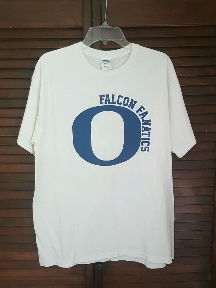 Men's Gildan Ultra Cotton White Blue Falcon Fanatics This is our house T-shirt L | Clothing, Shoes & Accessories, Men's Clothing, T-Shirts | eBay!