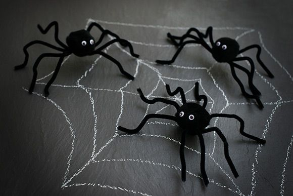 Let's make… spooky Halloween spiders | Kiddicare Blog: Kiddicare Blog, Halloween Spiders, Spooky Halloween
