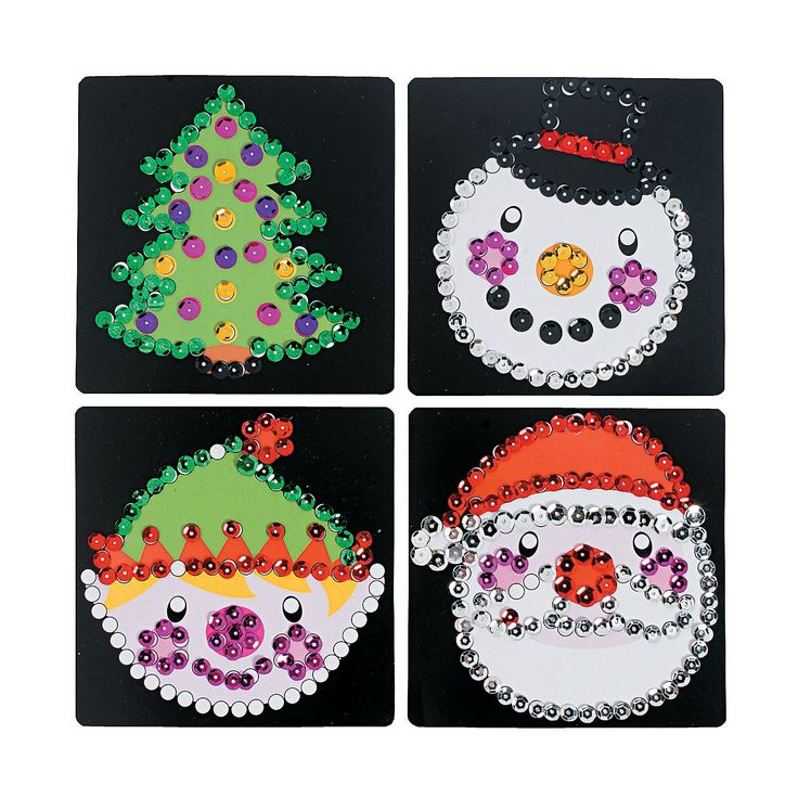 Christmas Sequins For Crafts