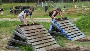 Image result for kids military obstacle course
