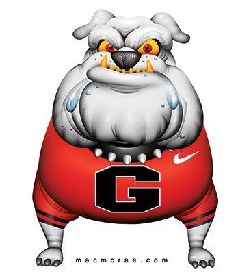 ga bulldog clipart | UGA, Bulldog, Cartoon, English Bulldog, englishbulldog