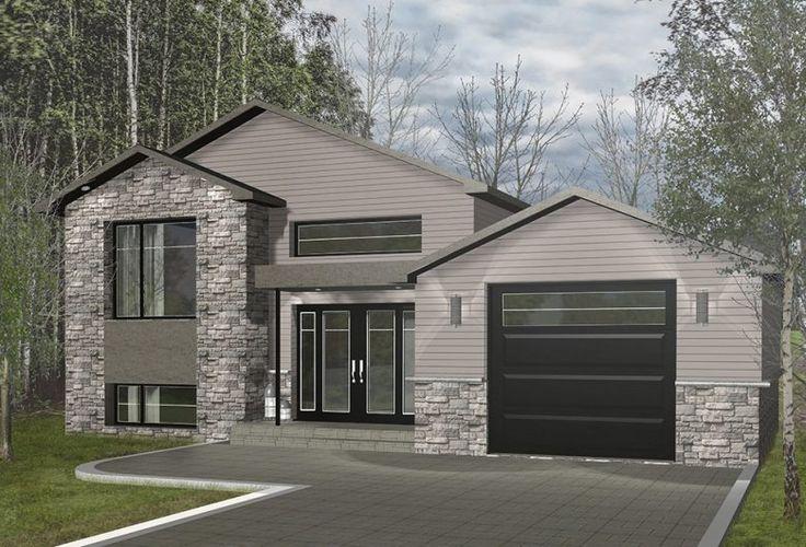 Modèle de maison usinée : Nipigon. Modular Homes Maisons Champoux