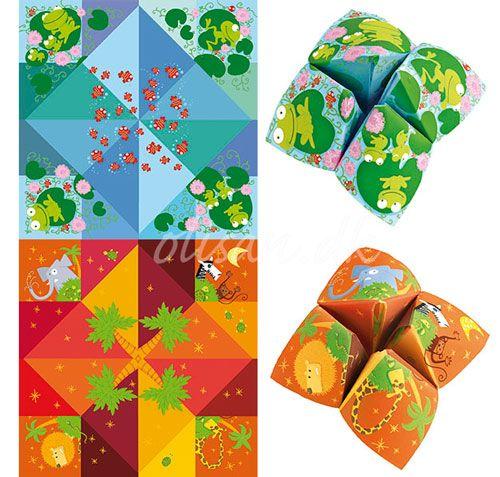Flip-flap origami