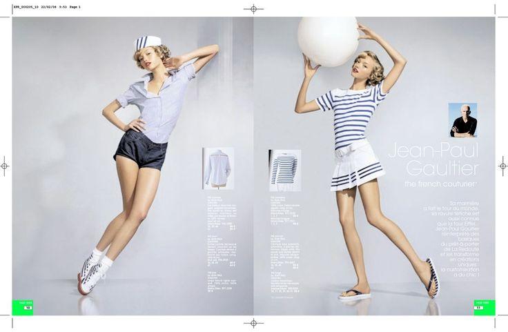Jean paul gaultier x la redoute la redoute x designer for La redoute boite a couture