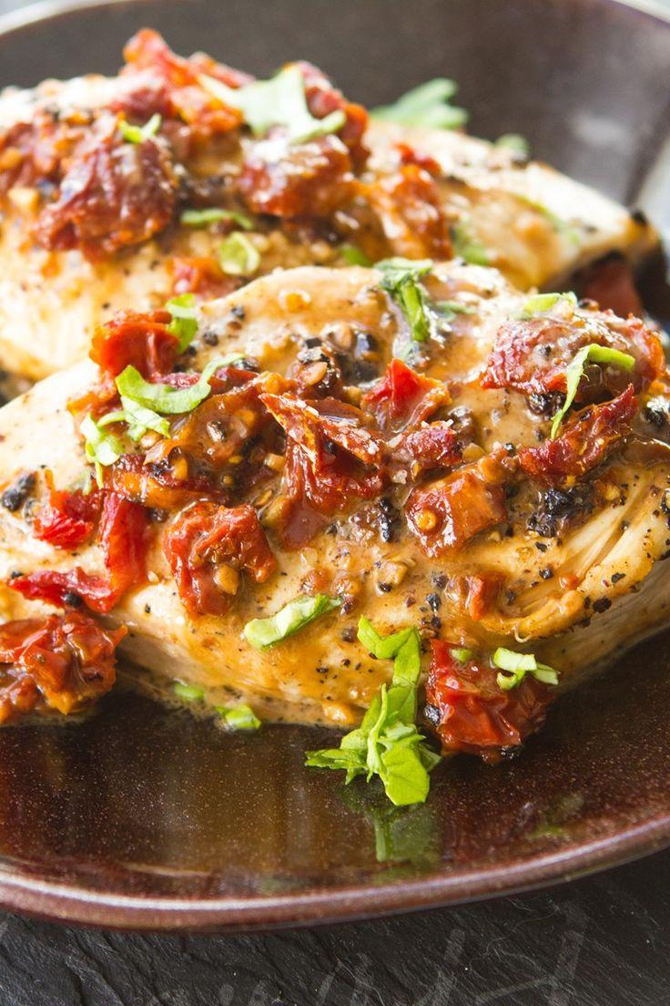 Quick Sun-Dried Tomato Chicken Recipe