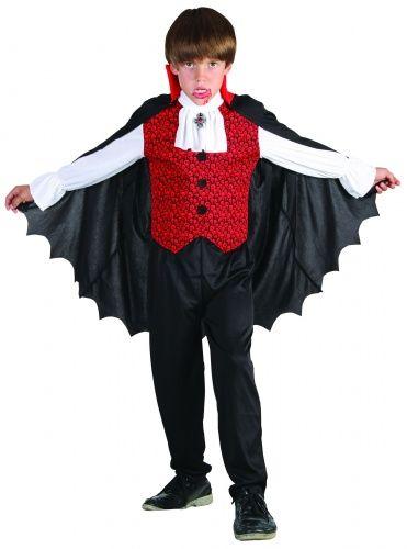 Vampier kostuum voor jongens Halloween outfit