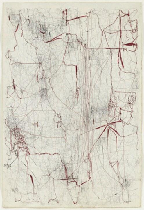 """Sin titulo (Sermón de la sangre)"" 1962 by Leon Ferrari (Museum of Modern Art, NYC)"
