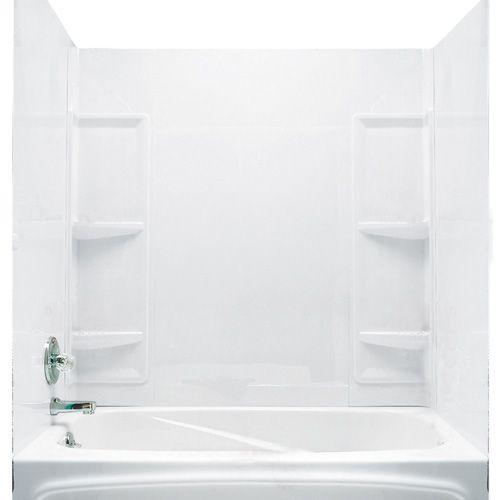 """$169. """"Monaco"""" Bathtub Wall"""