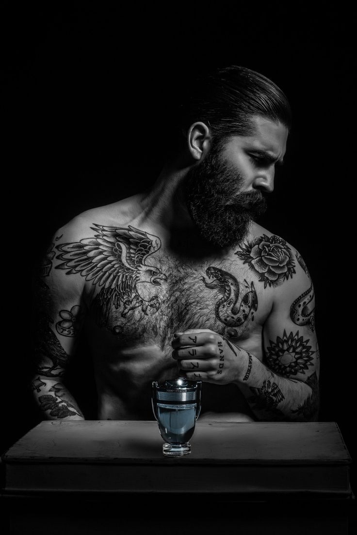 75 black and white tattoos for men masculine ink designs - Chris John Millington Photographed By Lee Faircloth Male Tattoobeard Tattootattoo Inkinked