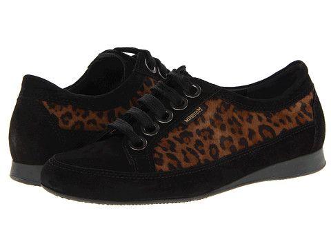 Mephisto Bretta Black Velcalf Premium/Leopard Velours - Zappos.com Free Shipping BOTH Ways