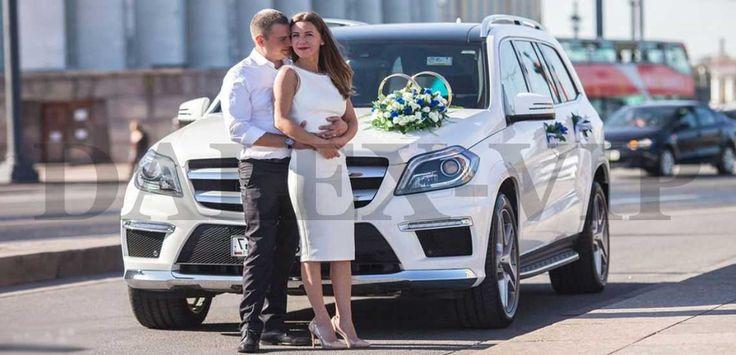 Авто на свадьбу - Мерседес GL Class белый СПб