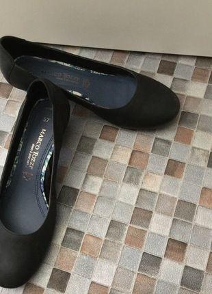 Kaufe meinen Artikel bei #Kleiderkreisel http://www.kleiderkreisel.de/damenschuhe/ballerinas/135390058-schwarze-ballerinas-mit-absatz