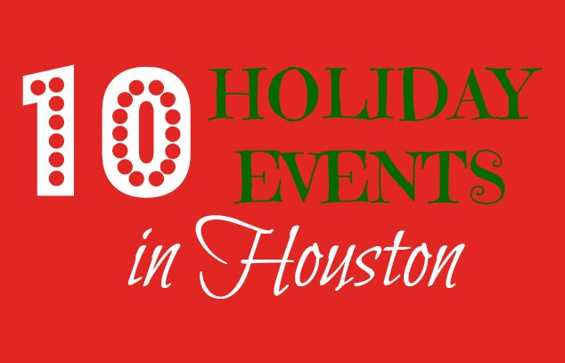 Houston, Texas has a ton of great Holiday & Christmas events happening this season. Christmas Train rides, Zoo lights, Ice Skating, & shows are just a few!
