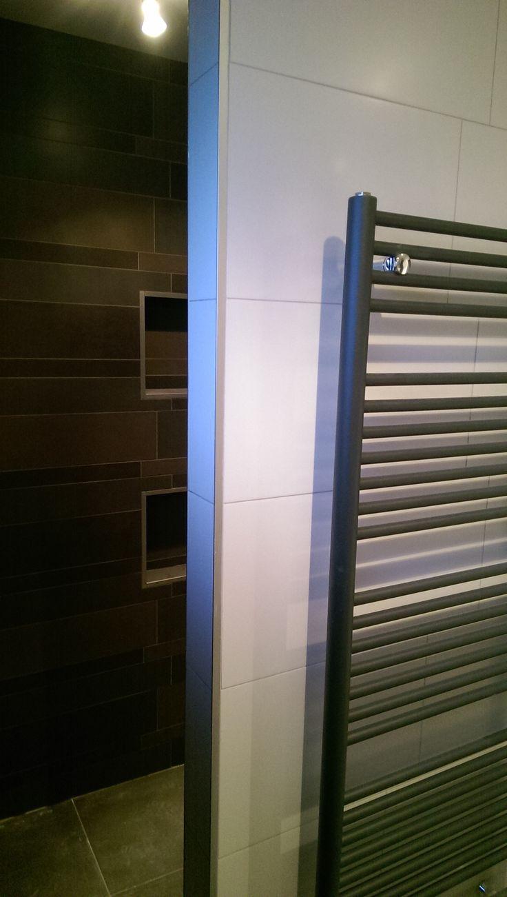 Graue nasszellenfliesen  besten badkamer bilder auf pinterest  badezimmer