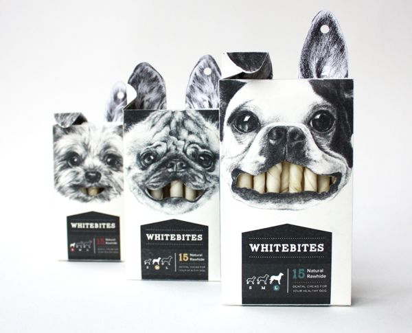 Whitebites by Cecilia Uhr. Repinned by www.strobl-kriegner.com #branding #packaging #design #creative #marketing