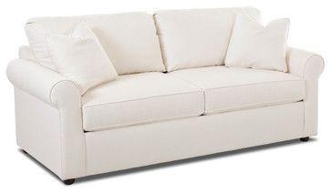 Brighton Dreamquest Queen Sleeper Sofa, Bull Natural transitional-sleeper-sofas