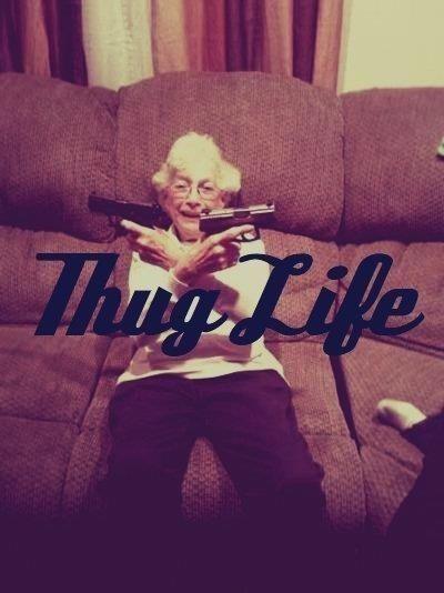 M.C. Grandma | 23 Senior Citizens Who Don't Give A F*@k