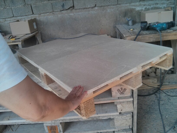 Making a pallet desk
