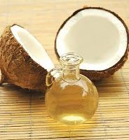 80 Uses for Coconut Oil    72.   Insect repellent – mix coconut oil with peppermint oil extract and rub it all over exposed skin. Keeps insects off better than anything with Deet! Tons safer too.