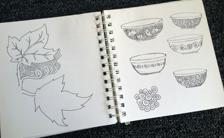 Pottery sketchbook   just wish I still had the time to make them too.