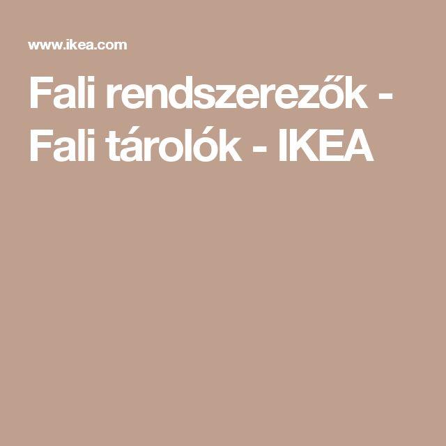 Fali rendszerezők - Fali tárolók - IKEA