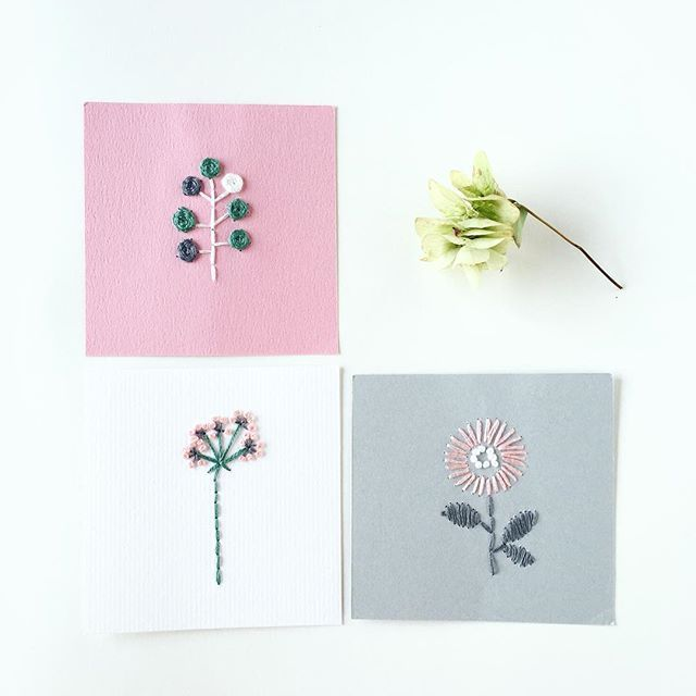 WEBSTA @ annastwutea - 『5つのステッチでできるannasの刺繍工房』(日本文芸社)の中から。表紙にもなっている図案を1個づつ取り出して紙刺繍しています。これもお気に入りの刺繍。・・#刺繍 #ハンドメイド #ハンドメイド #handicraft #handembroidery #handmade #needle #needlework #embroideryart #embroidery #手刺繍 #手芸 #手作り #вышивка #紙刺繍 #handcraft #てづくり #stitch #자수 #刺繡 #川畑杏奈 #annas #アンナス #broderie #handiwork #needlecraft #paperstitching #5つのステッチでできるannasの刺繍工房