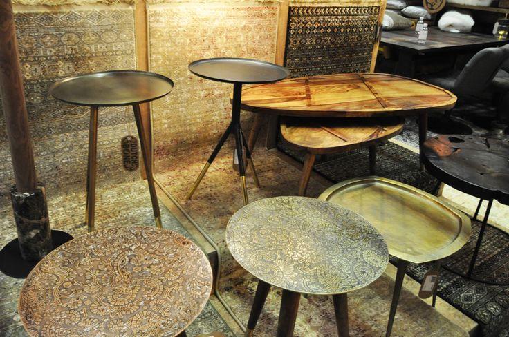 en nog meer ronde bijzettafel/salontafels