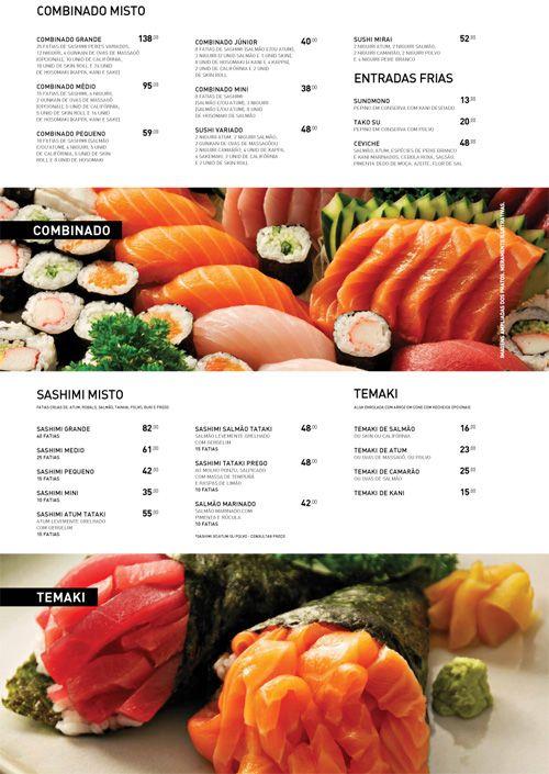 Art of the menu mirai by kelly cree menu editorial for X cuisine miri menu