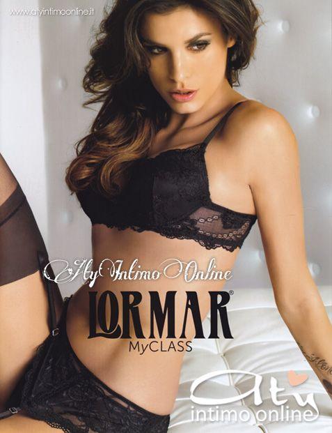 """""""MyClass"""", la nuova Collezione di #Lormar, celebra il delicato effetto scultura del pizzo e racconta tutte le potenzialità di questo tessuto prezioso che rende l'underwear perfetto, inimitabile e molto sexy. Le proposte, raccontate dalla testimonial Elisabetta #Canalis, sono dedicate ad ogni esigenza e soddisfano il desiderio di indossare dei coordinati eleganti e molto femminili. http://www.atyintimoonline.it/43-intimo-lormar"""