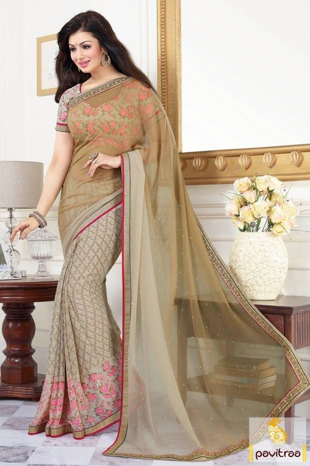 Bollywood Heroine Actress #Beige Georgette Office Wear Saree #Bollywood, #Heroine #Actress #Georgette #sarees, #sari, #saree, #partywear, #casual, #latest, #fancy, #beautiful, #indianfashion, #indian, #officewear #formal #designer #ayeshatakia More Product : http://www.pavitraa.in/store/bollywood-saree/ Any Query :  Call / WhatsApp : +91-76982-34040  E-mail: info@pavitraa.in