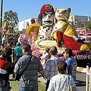 POST PARADE: A SHOWCASE OF FLOATS SPONSORED BY MIRACLE-GRO ONE DAY TICKETS $15.00
