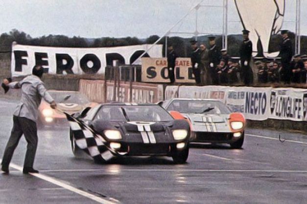 24 Heures Du Mans 1966 Ford Mkii 2 Pilotes Chris Amon