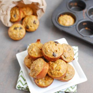 Made with just 4 ingredients, these Sweet Potato Banana Bites are gluten-free and make a delicious snack!