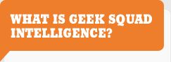 What Is Geek Squad Intelligence?