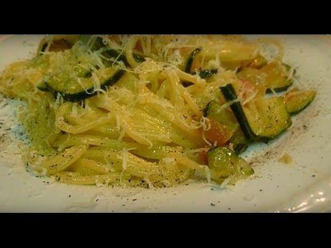 Спагетти Карбонара с Кабачками Очень Вкусно! Spaghetti Carbonara con Zuc...