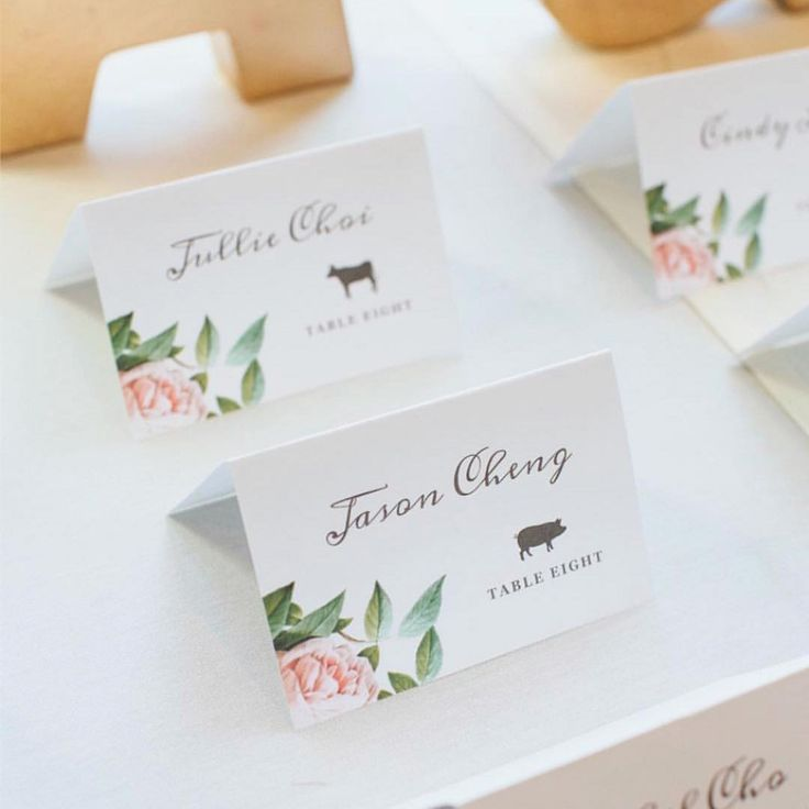 Wedding Table Place Card Ideas: 87 Best Everly Compatible Printable Wedding Templates