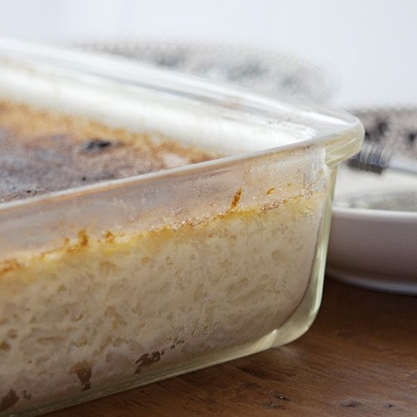Baked Rice Pudding Recipe With Images Baked Rice Pudding