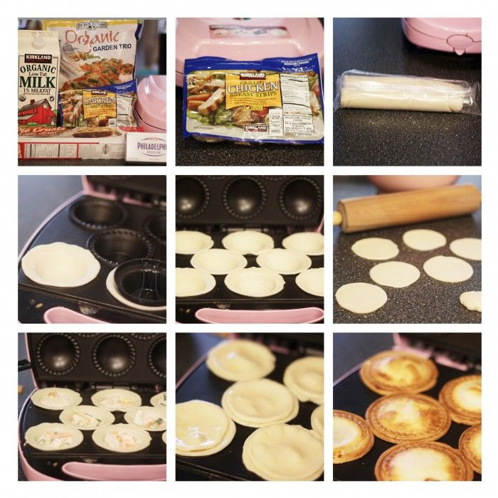 making these with my new christmas present, mini pie maker;) kiddos will love these