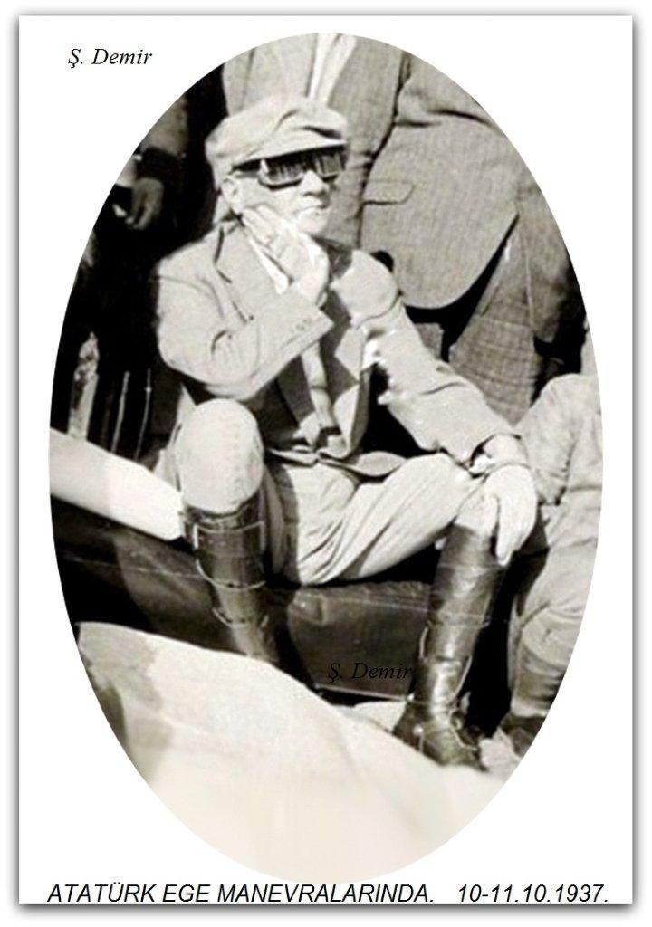 Atatürk Ege manevraları 10-11.10.1937