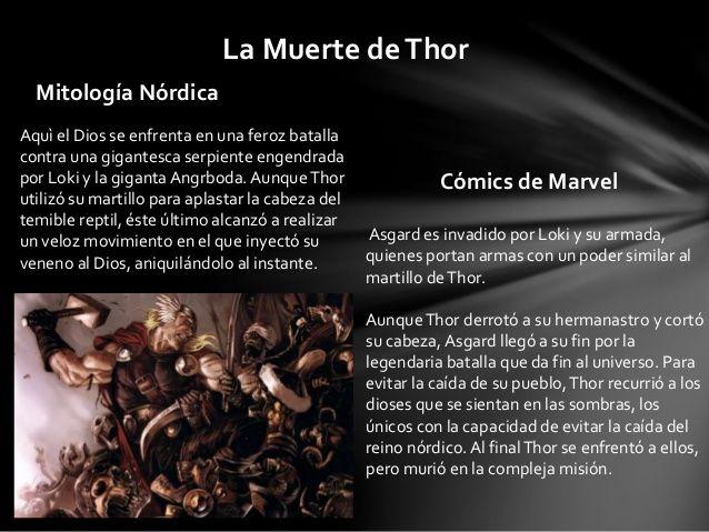 Thor y La Mitología Nórdica