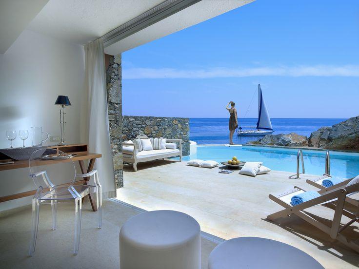 #WishyouwereHere St. Nicolas Bay Resort Hotel & Villas in Agios Nikolaos, Crete, Greece http://www.slh.com/hotels/st-nicolas-bay-resort-hotel-villas/