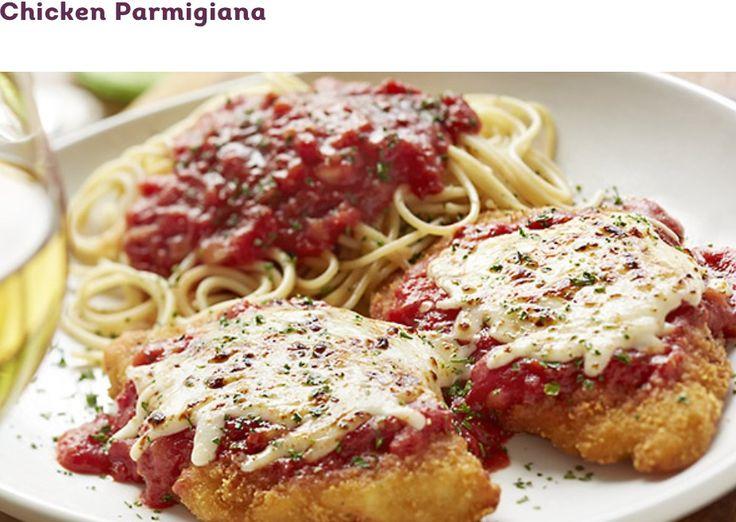 Olive Gardens Chicken Parmigiana