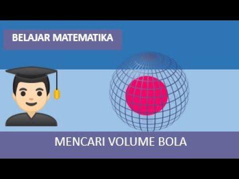 Mencari Volume Bola Di 2020 Dengan Gambar Matematika Belajar