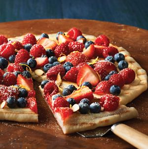 Since the grill's all fired up, why not throw on dessert? This Grilled Berry Pizza is a fabulous way to end a summer meal.