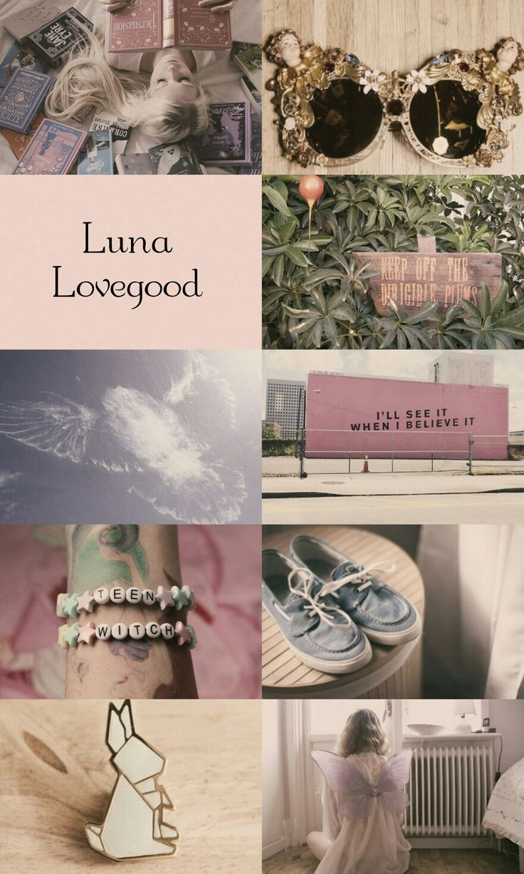 Luna Lovegood from Harry Potter