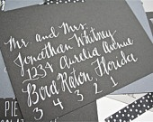 Cute envelope addressing!