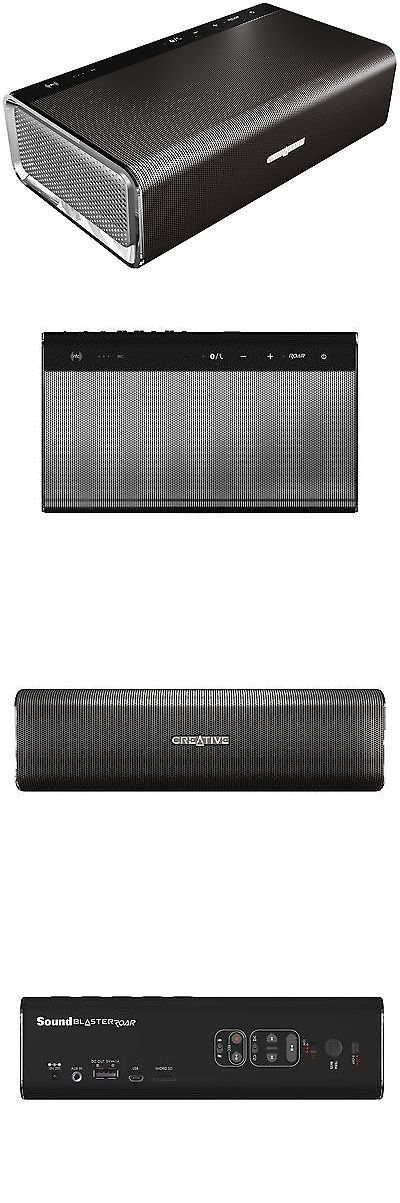 Portable Stereos Boomboxes: Creative Sound Blaster Roar: Portable Nfc Bluetooth Wireless Speaker With Apt... -> BUY IT NOW ONLY: $122.54 on eBay!