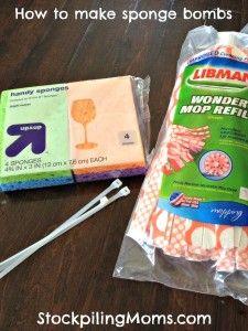 How to make sponge bombs